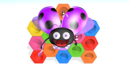 可乐姐姐ABC-彩色小瓢虫-幼儿英语