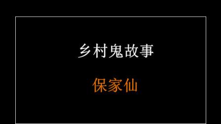 乡村鬼故事-保家仙