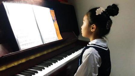 可可演奏约翰·飞利普·基恩贝格尔作品《布雷舞曲No.1》