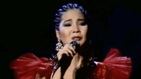 邓丽君的音质天籁,歌唱技艺超凡