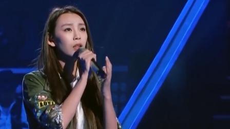 中国新歌声:气质美女一首《一万次悲伤》,声音爆发力超强,惊艳