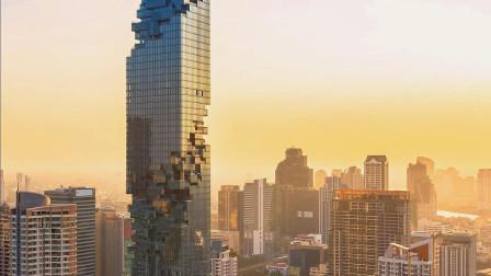 """泰国真的落后?用""""烂尾楼""""当标志性建筑,晚上才发现其中"""