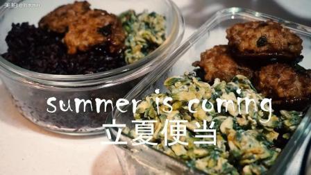 【刘水水】立夏第一份便当, 小清新解决今天吃什么的更古难题
