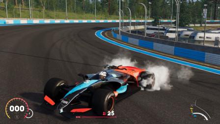 飙酷车神2:土豪全款提F1超级跑车,据说这玩意跑的比飞机快