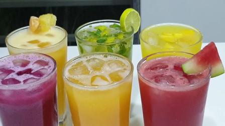 夏日炎炎,自己diy一杯冰镇果汁,这样的果汁你觉得怎么样