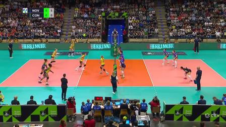 2018/19女排欧冠决赛集锦:诺瓦拉VS科内利亚诺