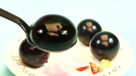 日本进口网红巨峰葡萄气球果冻布丁零食