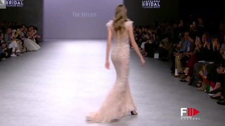 巴塞罗那时装周THE ATELIER 品牌婚纱秀,满满的时尚感!