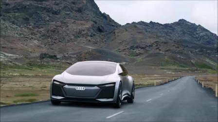 奥迪Aicon,未来的汽车!