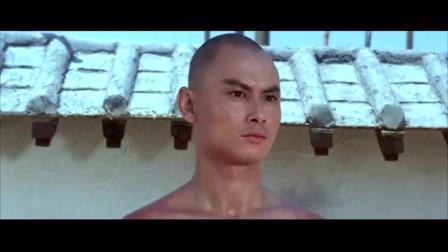 刘家辉搭棚功夫大战满清十棍板凳功夫,打斗场面超精彩棒棒的