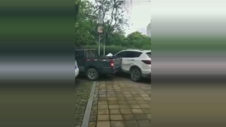 没事千万不要乱停车,因为不是每个被你堵住的车主都好脾气