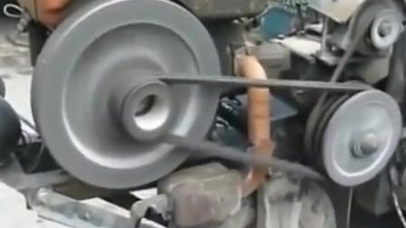 这才是中国柴油机的真正用途, 这样的改装没谁了真是天才