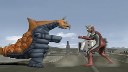 奥特曼格斗进化,杰斯提斯都没怎么出手就被巴克西姆击败了
