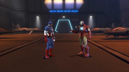 钢铁侠空有一身战斗盔甲,却打不过身体素质强硬的美国队长