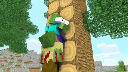 我的世界动画-怪物学院-丧尸大全-MineGirlZ