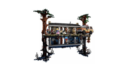 LEGO乐高积木玩具怪奇物语系列75810颠倒世界套装速组速拼
