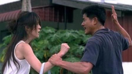 郭富城主演电影《父子》,他让儿子偷盗被抓,儿子愤怒咬掉了他的左耳