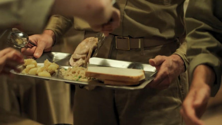 最新战争片,美军在二战时期的伙食真棒,长官还挑三拣四不想吃