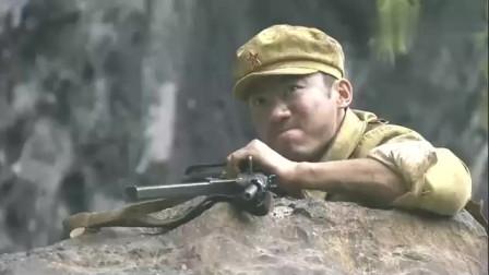机枪加手榴弹,战士开启无限火力,一人打倒一队特务