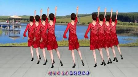 广场舞《你是我永远的痛》32步水兵舞,歌醉舞美,舞步好看好学!