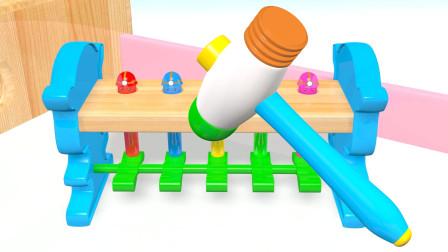 可乐姐姐ABC-可爱的敲打玩具-幼儿英语
