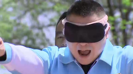 极限挑战: 岳云鹏挑战蹦极吓到腿软,跳下去后发现被骗失声痛哭