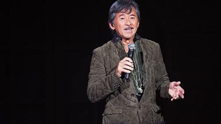 70岁的林子祥现场霸气演唱《男儿当自强》 虽然老了,但依旧活力满满