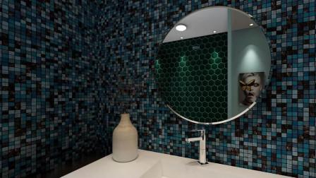 浴室背景墙用什么好?