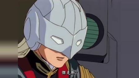 高达:杰克斯为掩护希罗撤退,独战百架机动战士,场面十分壮观!