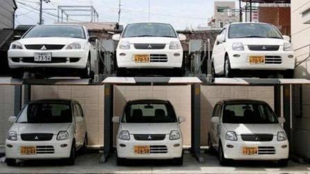 """日本的""""逆天停车位""""设计,看完瞬间就明白,为啥国内停车难!"""