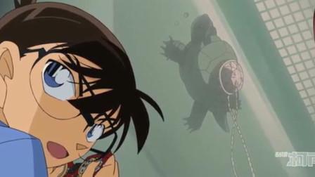 名侦探柯南-色狼想看小兰的胸,不把柯南当回事吗?