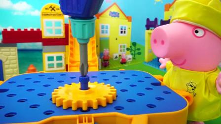 变形警车珀利的维修工具箱儿童玩具