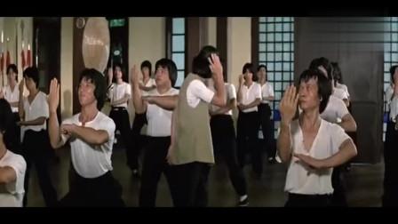 《醉拳》粤语,石天教的拳有姿势冇实际,被成龙整蛊了