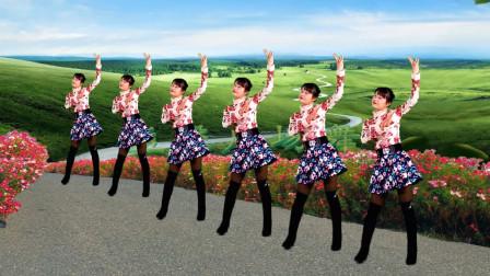 热门广场舞《小苹果》不老的神曲,欢快的16步,越简单越爱跳