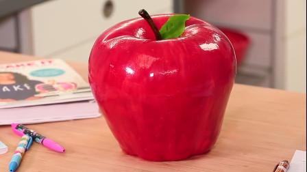 创意蛋糕的制作全过程,直接做成苹果的形状,好逼真!你见过吗