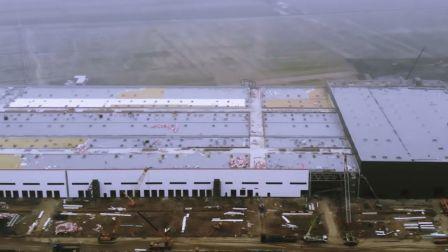 特斯拉上海工厂5月份进展
