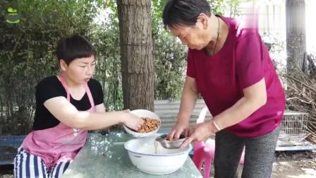 王婷婷说三农:大丫在农村做红枣糕,浓甜软香,一大锅不够吃,简直太过瘾