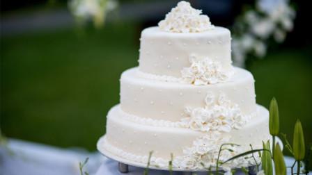 如何制作精致的婚礼蛋糕?国外小伙亲自教学,一起来见识下!