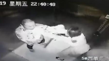 宿迁一女子电梯内遭陌生男子猥亵 苦苦挣扎近一分钟才逃脱