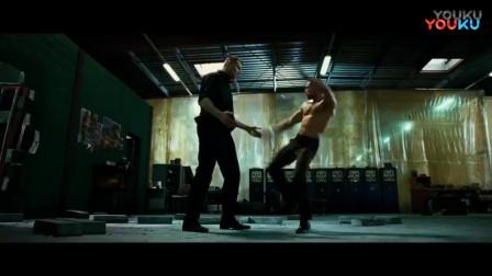 杰森斯坦森正在虐菜, 遇到了对手, 被暴打蒙圈!