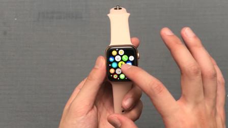 2299元买的苹果手表4代开箱,戴在手上的那一刻:我内心在颤抖!