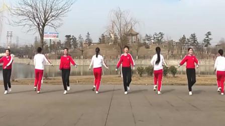 广场舞双人对跳《九妹》,歌曲动感,舞步简单,好听又好看