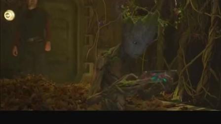 星爵找格鲁特聊天却遭遇拒绝?进入叛逆期的他只知道打游戏!