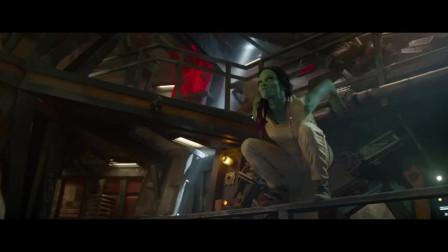 银河护卫队:树人的能力真多,手臂还能自由伸缩!