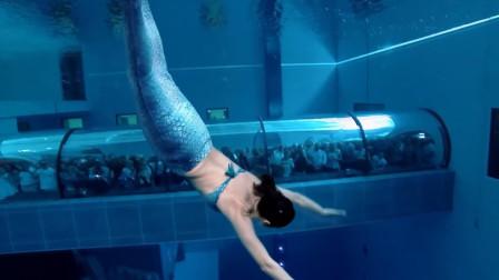 在40米深的泳池游泳什么感觉?过来人讲出其中辛酸令人心疼