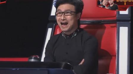 连汪峰都不相信了,60岁大爷唱他的歌,竟把他自己都超越了