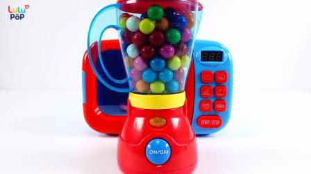 微波炉和兔子杯,好多七彩巧克力蛋蛋糖