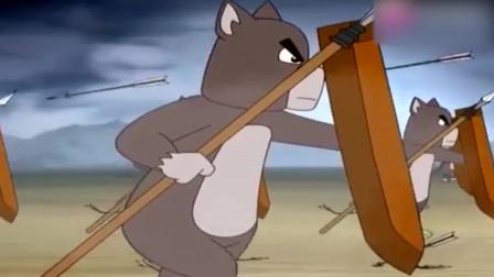 福五鼠:面对狗军攻城,猫军的防守太有伤力!