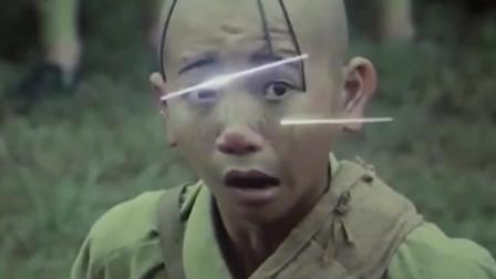 三毛从军记:三毛力气太小,刚学会开枪,后坐力把他给弹飞了!