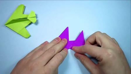 一张正方形纸折一个漂亮的纸飞机,手工折纸飞机大全